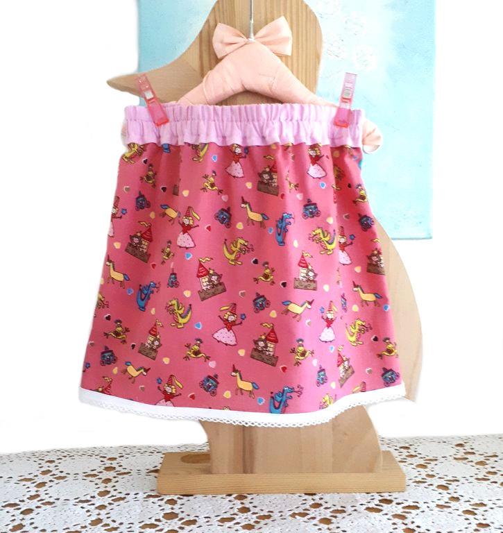 Mädchen Sommer Rock Gr. 104 genähte Kinderkleidung, Röcke 63cc019cbb