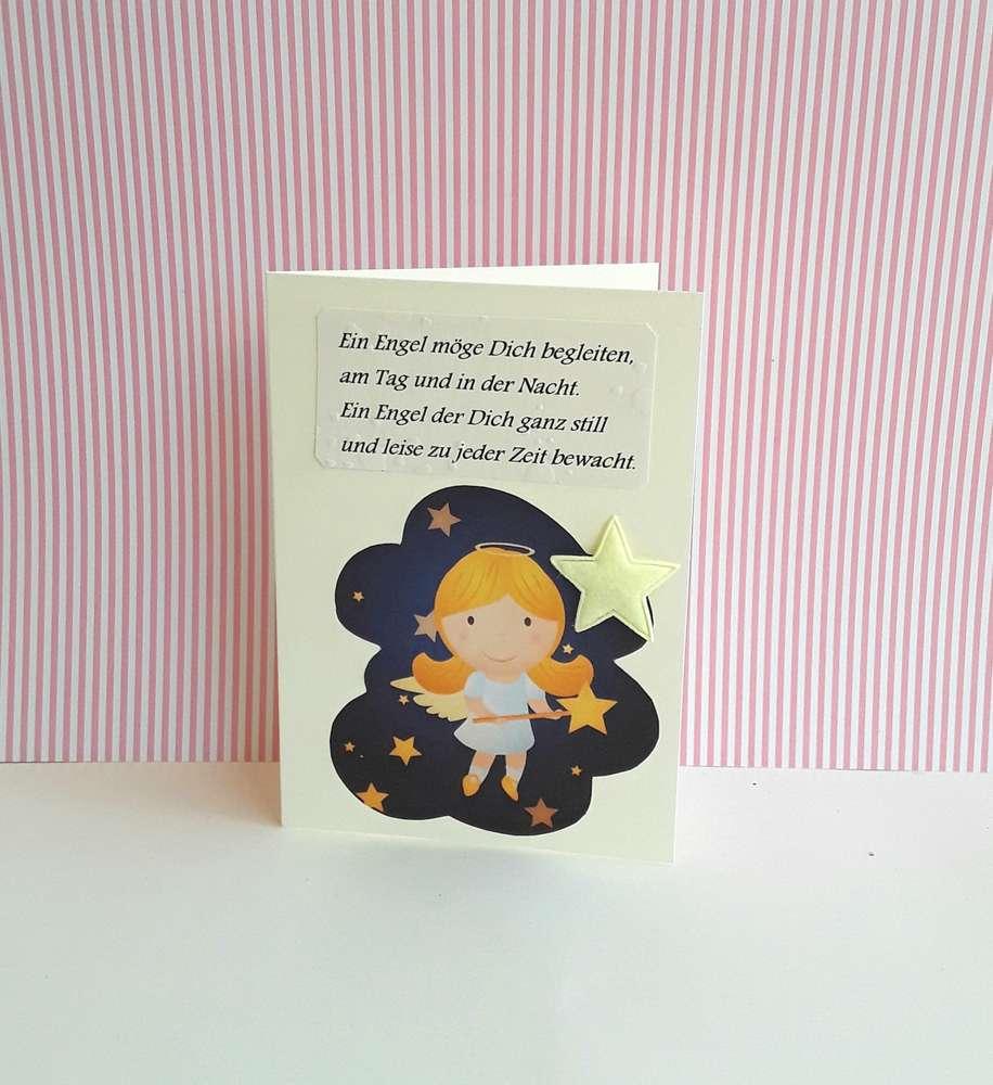 Glückwunschkarte Zur Geburt Mit Gedicht